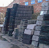 Reclaimed Welsh Slates.